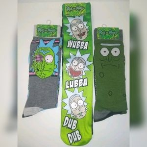 Rick and morty socks